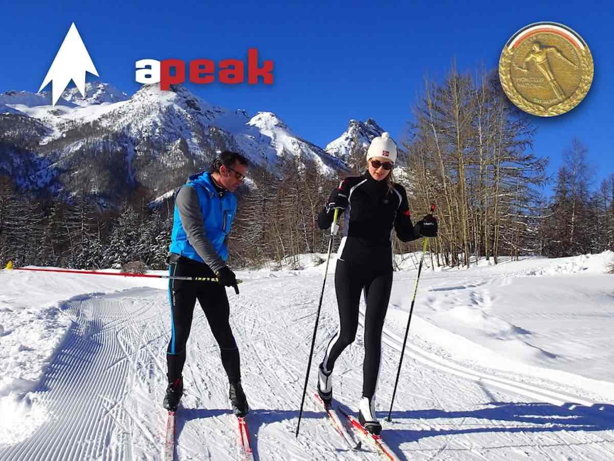 Le ski de fond Montgenèvre