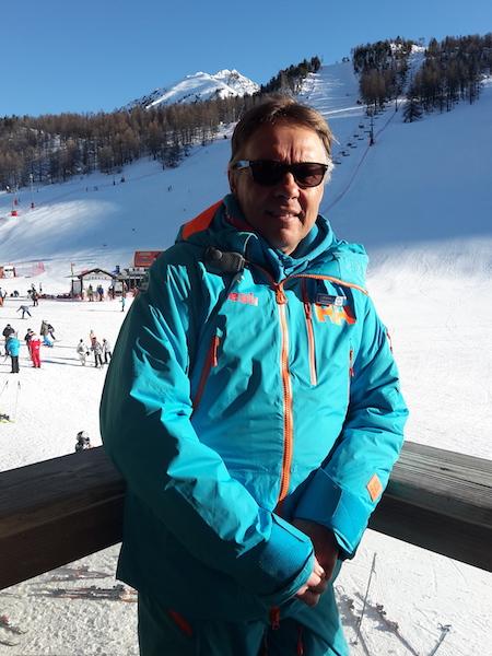 Michel Moniteur de ski et snowboard Montgenvre