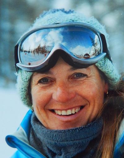 Corinne Monitrice de ski Montgenevre
