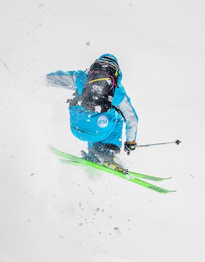 Florian moniteur de ski montgenevre
