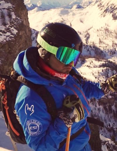 Gaetan moniteur ski snowboard montgenevre
