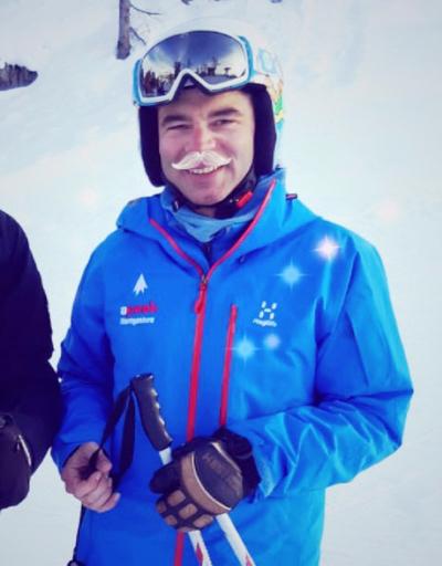 Giacomo moniteur de ski freeride Montgenvre