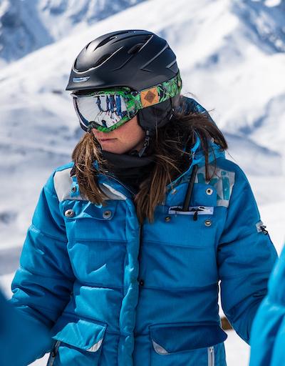 Margot monitrice de ski montgenevre