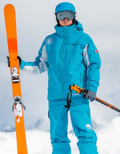 Noé moniteur de ski montgenevre
