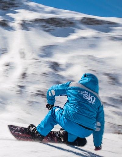 Tom moniteur de ski montgenevre