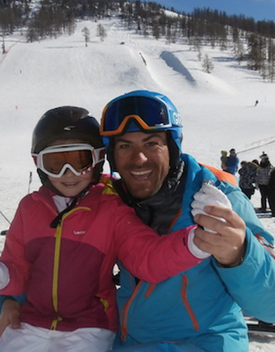 Tony cours moniteur de ski montgenevre