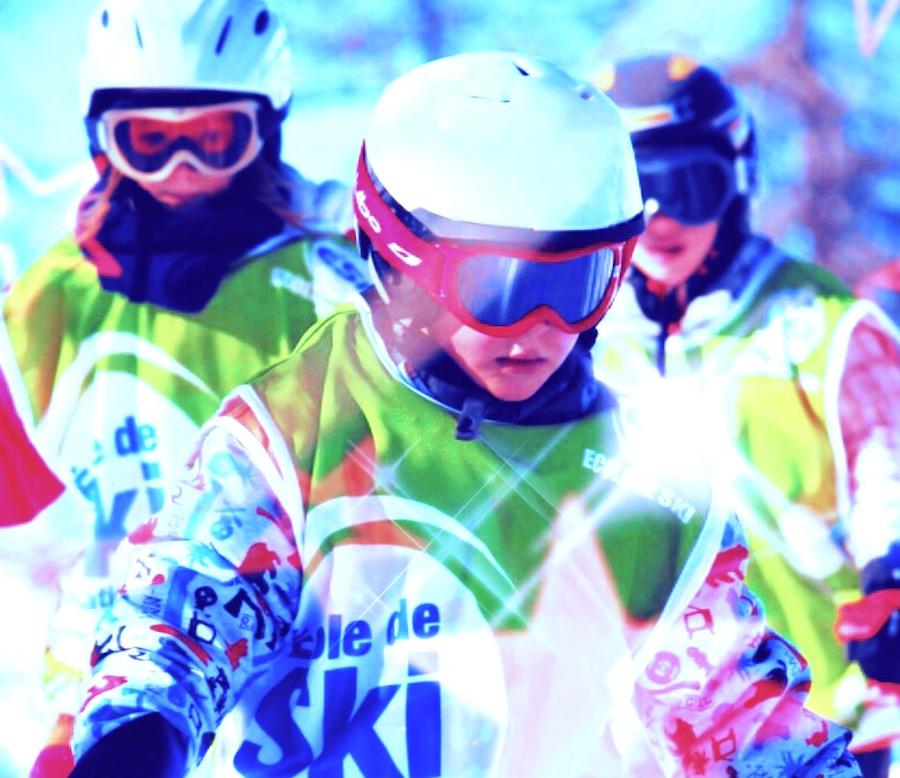 Cours de ski enfants Montgenevre APEAK
