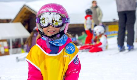 cours de ski enfants Montgenevre