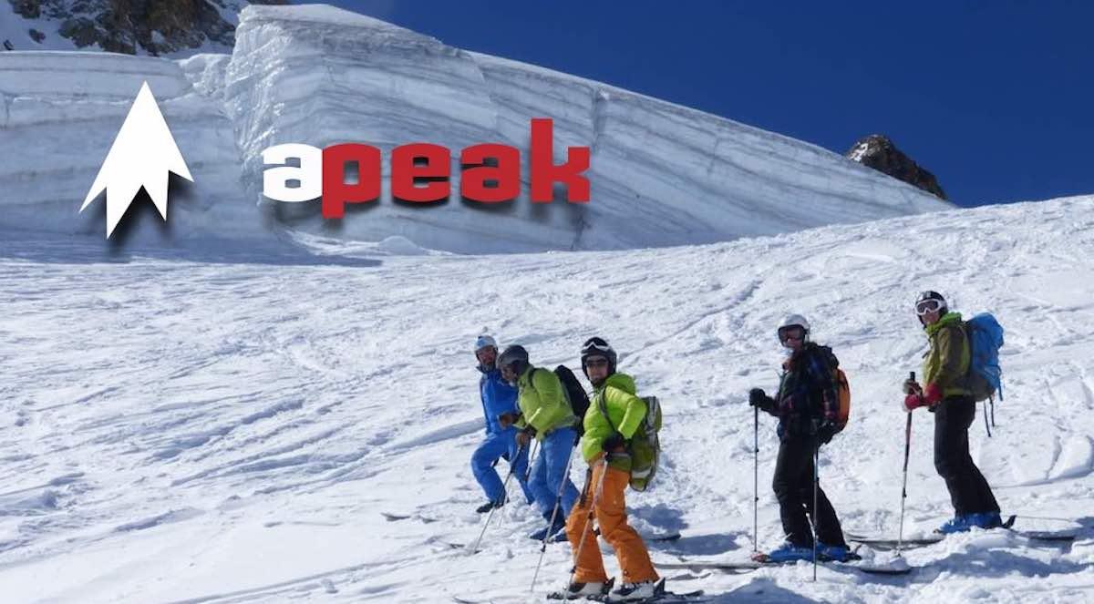 2 Groupe ski hors piste Montgenevre