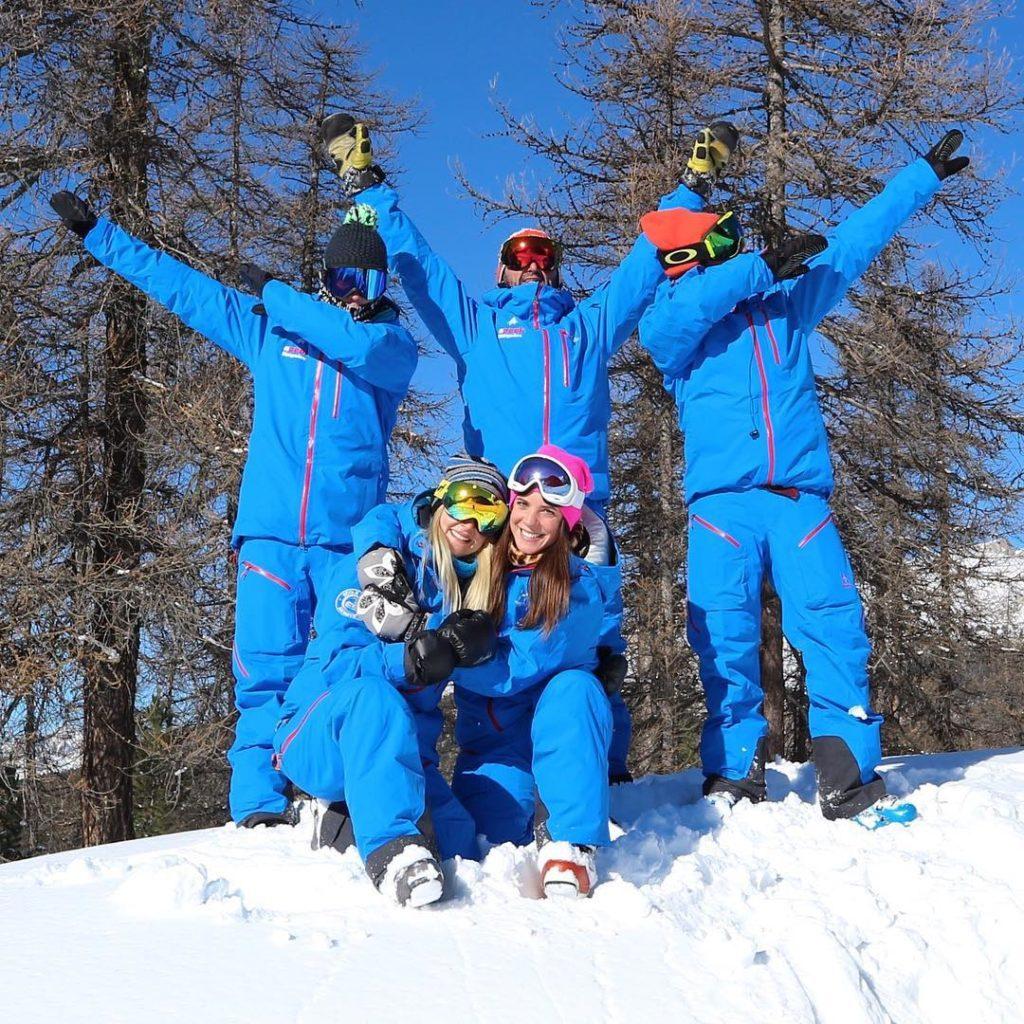 moniteur de ski de Montgenèvre