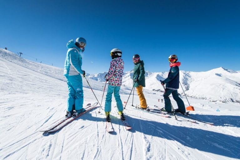 Groupes ski adolescents