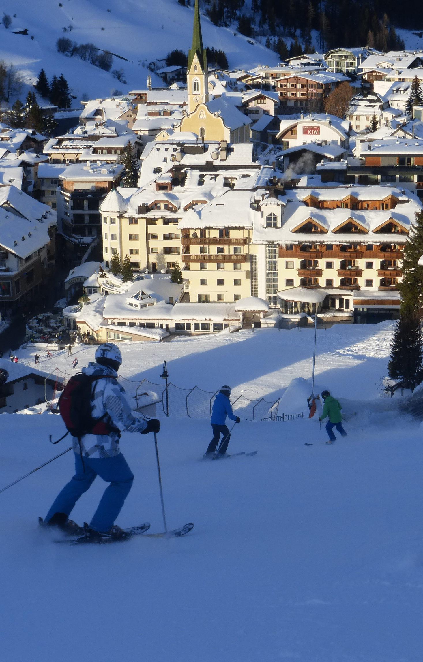 L'autriche en ski