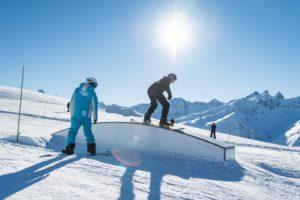 Cours freestyle de snowboard