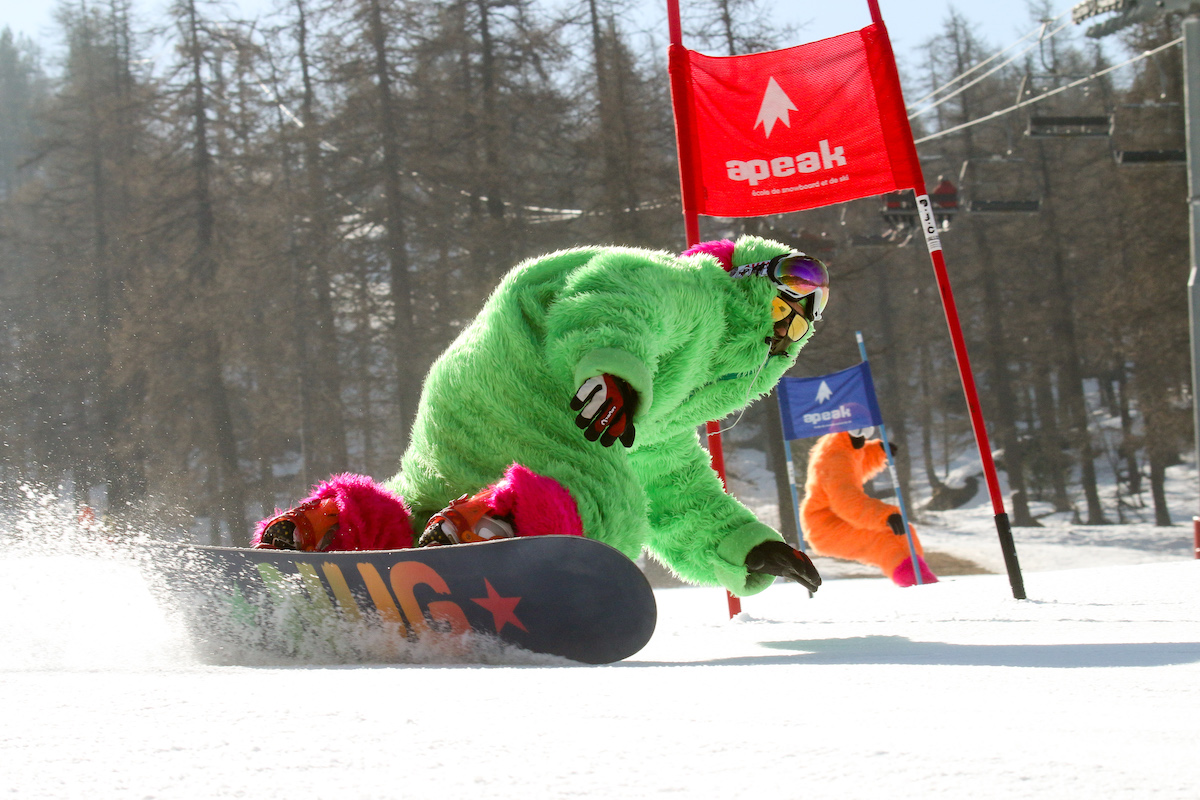 club de snowboard Montgenèvre